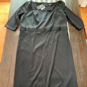 ABS Square Neck Dress, NWT (sz 3x)
